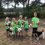 Kind mit Hund: Unsere Zukunft